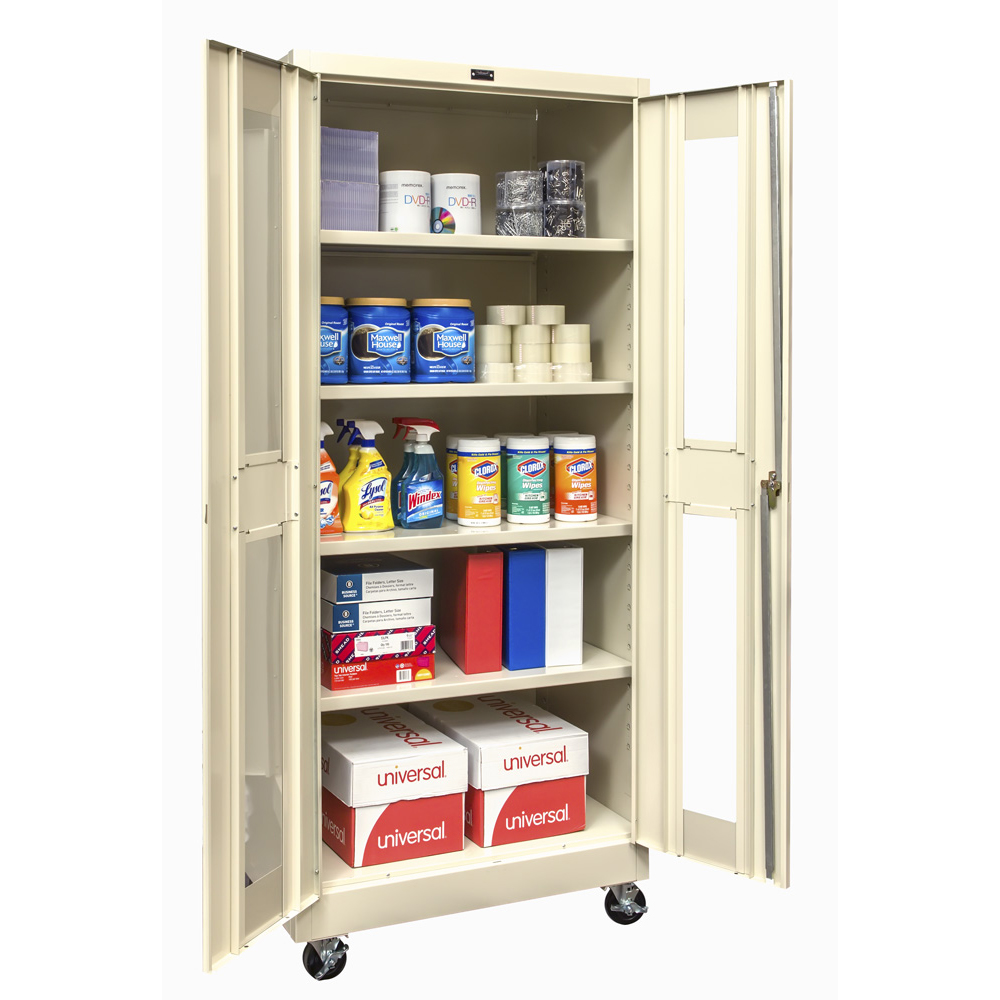 Mobile Safety View Storage Cabinet